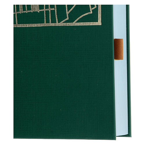 Segnalibri adesivi cuoio marrone 10 pezzi per testi liturgici 2