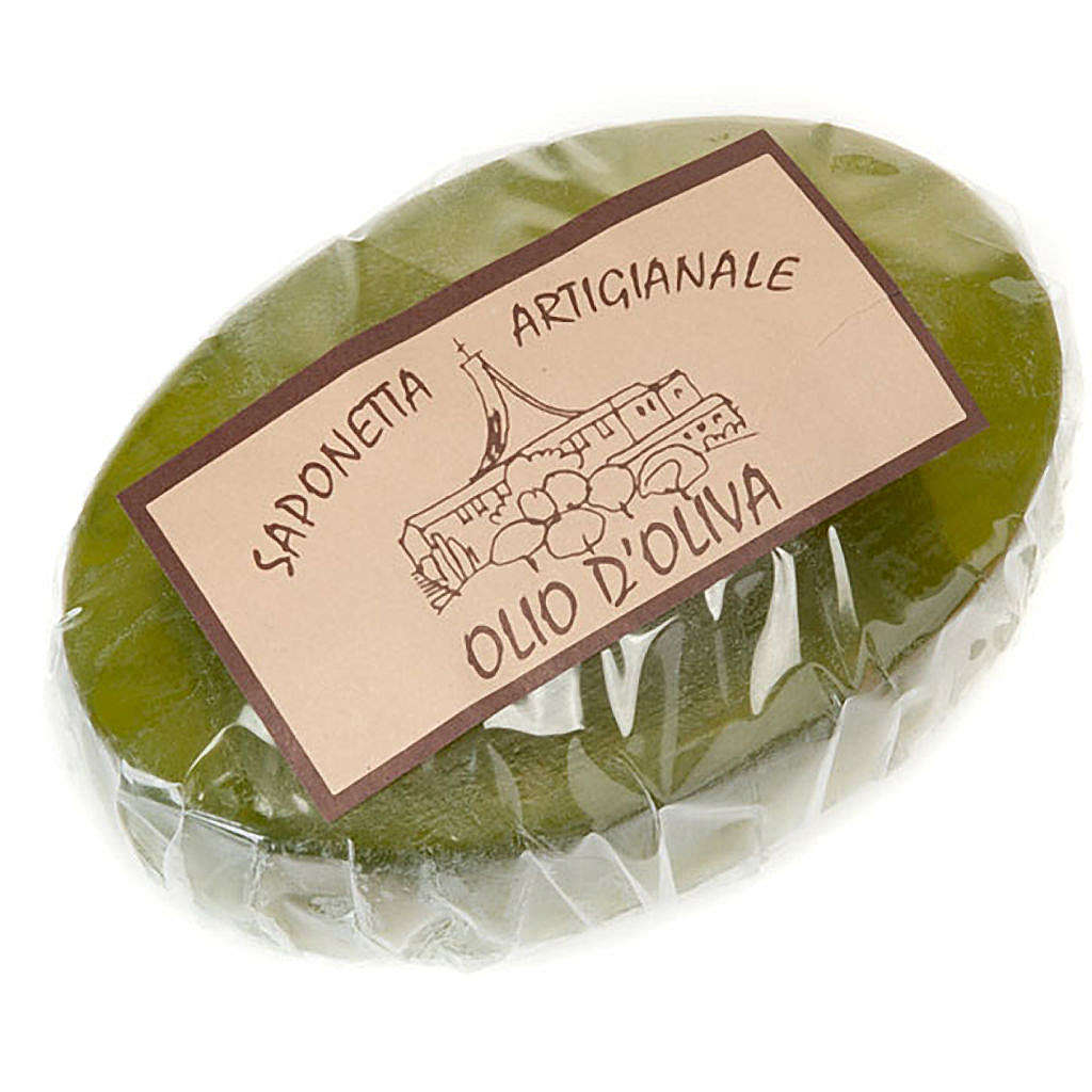 Olive oil soap 100 gr- Trappist nuns 4