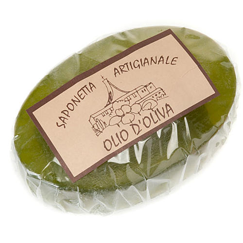 Olive oil soap 100 gr- Trappist nuns 1