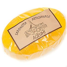 Natural shampoos, shower gels, soaps and toothpastes: Citrus fruit soap 100 gr- Trappist nuns