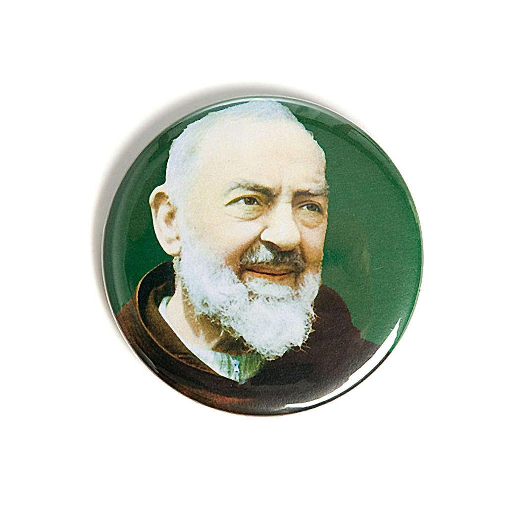 STOCK Magnete Padre Pio da Pietrelcina 3