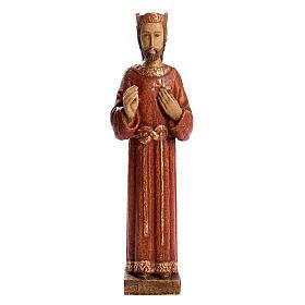 Imágenes de Madera Pintada: Sagrado Corazón de Jesús de madera