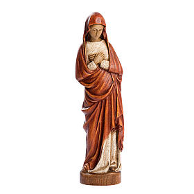 Imágenes de Madera Pintada: Estatua Virgen de la Anunciación