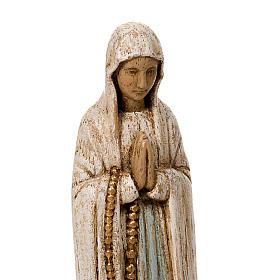 Nostra Signora di Lourdes legno Bethléem s3