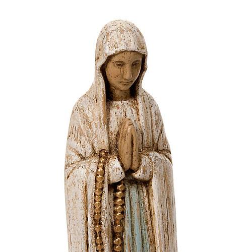 Nostra Signora di Lourdes legno Bethléem 3