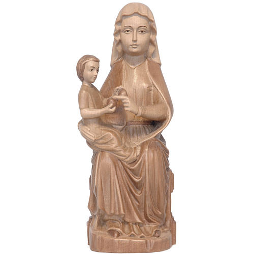 Our Lady of Mariazell in multi-patinated Valgardena wood 1