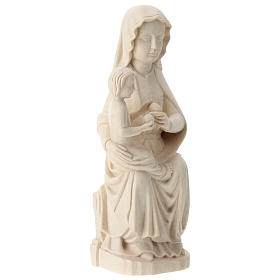 Our Lady of Mariazell in natural Valgardena wood s4