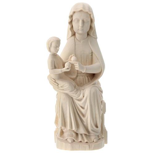Notre-Dame de Mariazell bois naturel Valgardena 1