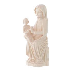 Madonna Mariazell legno Valgardena naturale s2