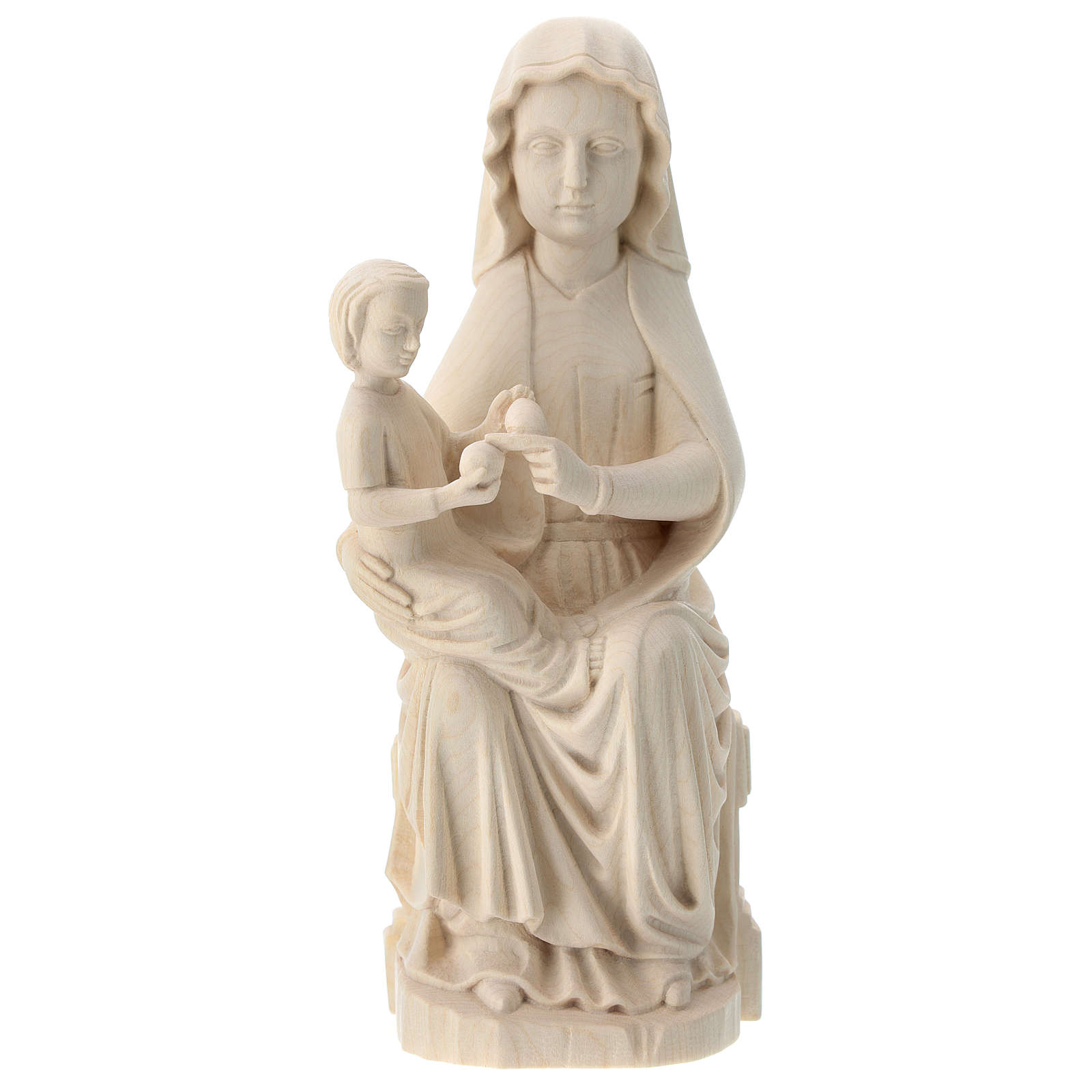 Madonna Mariazell drewno Valgardena naturalne 4