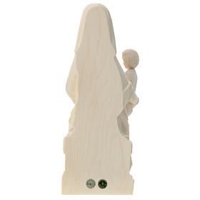 Our Lady of Mariazell in natural Valgardena wood s5