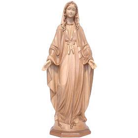 Madonna Immacolata legno Valgardena multipatinato s1
