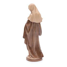 Virgen con Niño Madera Valgardena Multi-Patinada s3