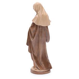 Madonna con bimbo legno Valgardena multipatinato s3