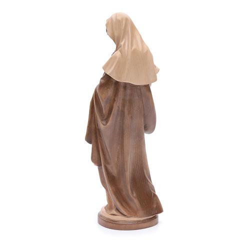 Madonna con bimbo legno Valgardena multipatinato 3