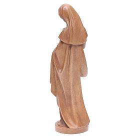 Madonna con bimbo legno Valgardena patinato s3