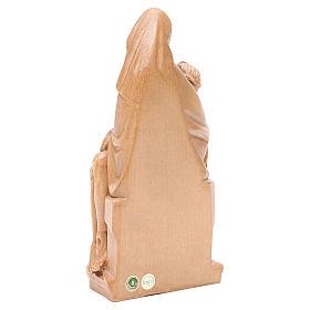 Pietà legno Valgardena patinato s3
