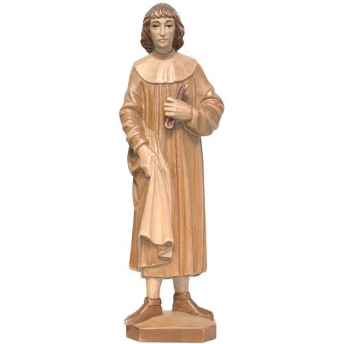 San Cosimo 25 cm legno Valgardena multipatinato 1