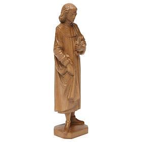 San Cosimo 25 cm legno Valgardena patinato s4