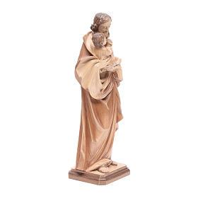 São José de Guido Reni madeira Val Gardena pátina múltipla s4