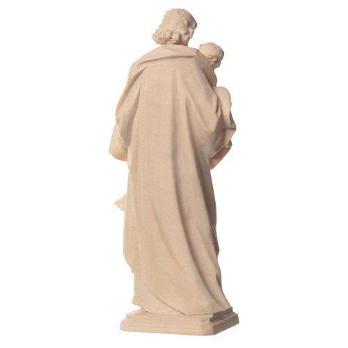 San Giuseppe di Guido Reni legno Valgardena naturale 2