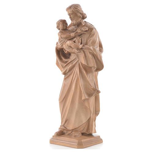 Heiliger Josef von Guido Reni Grödnertal Holz patiniert 2
