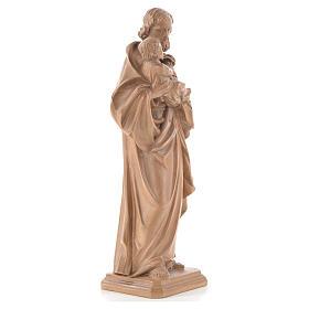 Guido Reni's Saint Joseph in patinated Valgardena wood s4