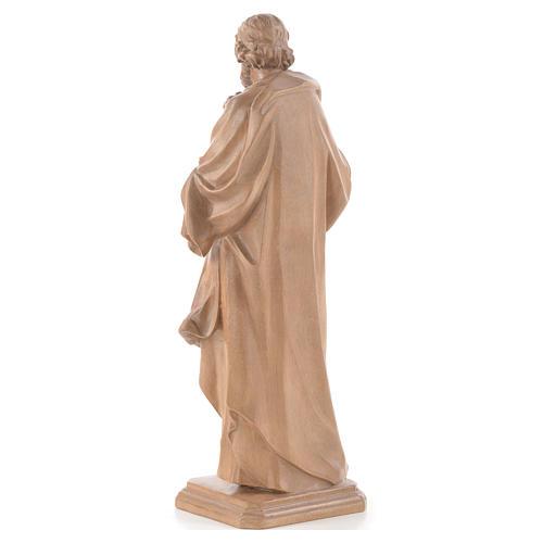 Guido Reni's Saint Joseph in patinated Valgardena wood 3