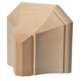 Mensola in legno naturale 19x21.5 cm s12
