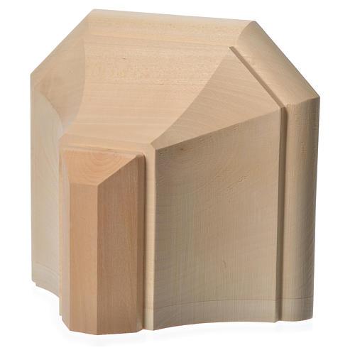Mensola in legno naturale 19x21.5 cm 12