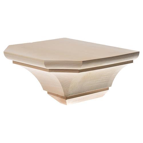 Mensola in legno naturale 19x21.5 cm 2