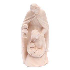 Holy Family in natural wood s1