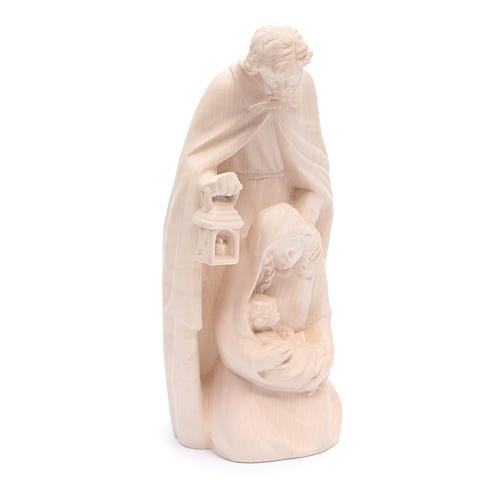 Holy Family in natural wood 4