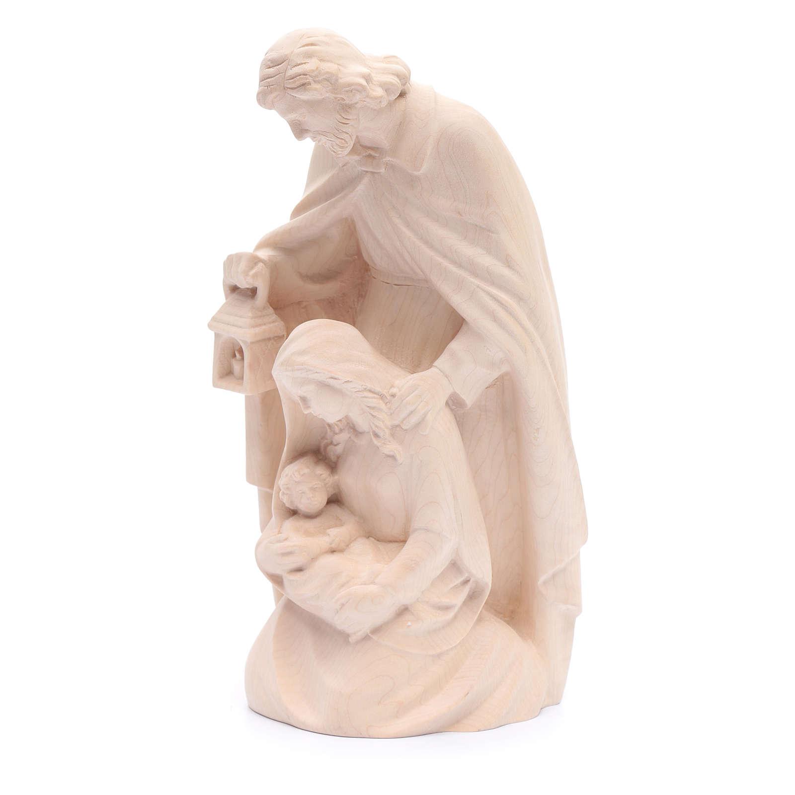 Sagrada Família em madeira natural 4