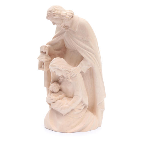 Holy Family in natural wood 2