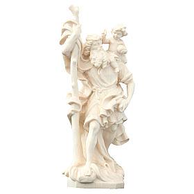 San Cristoforo in legno naturale s1