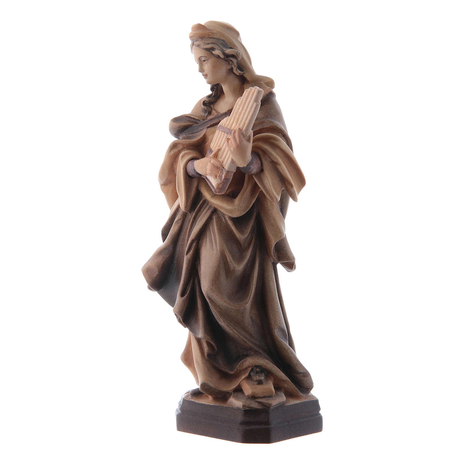 Sainte Cécile nuances de marron en bois 4