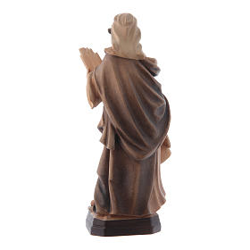 Santa Cecilia tonalità varie di marrone in legno s3