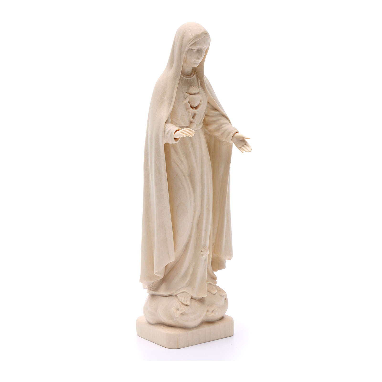 Our Lady of Fatima figure in Valgardena wood 4