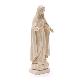 Our Lady of Fatima figure in Valgardena wood s3