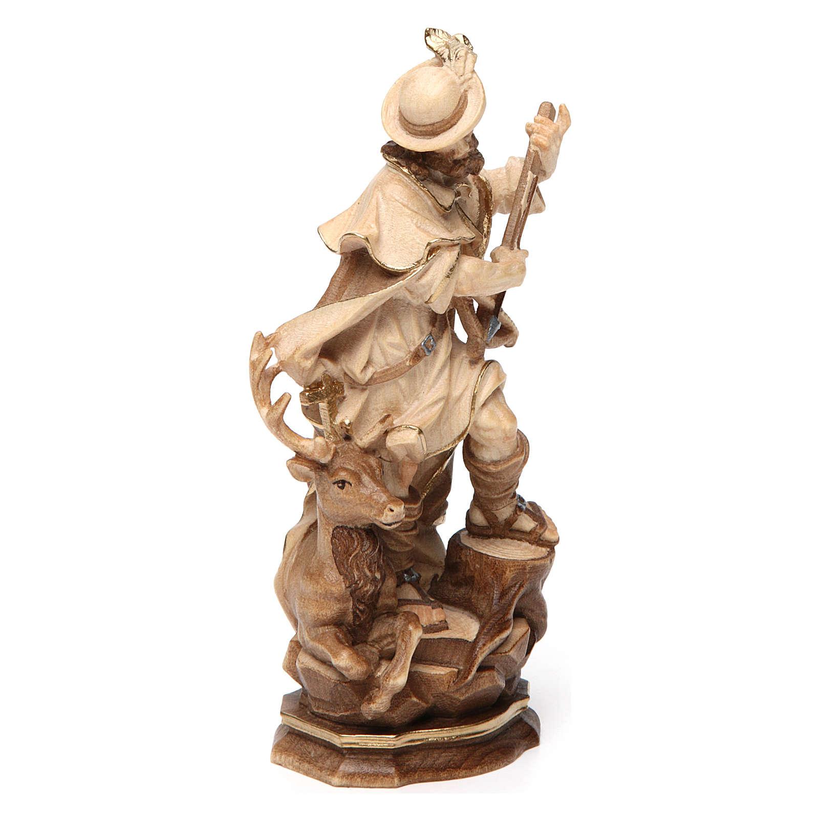San Huberto madera bruñida 3 colores Val Gardena 4