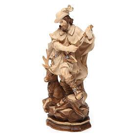 Santo Umberto madeira brunida 3 cores Val Gardena s2