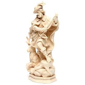 Sant'Uberto legno naturale Valgardena s3