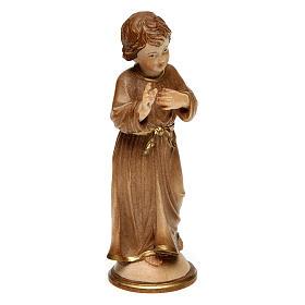 Jesús adolescente madera bruñida 3 colores Val Gardena s3