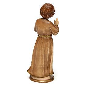 Jesús adolescente madera bruñida 3 colores Val Gardena s4