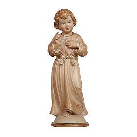 Gesù Adolescente legno brunito 3 colori Valgardena s1