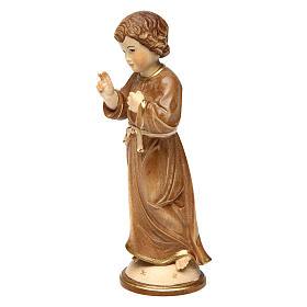 Gesù Adolescente legno brunito 3 colori Valgardena s3