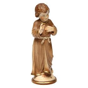 Gesù Adolescente legno brunito 3 colori Valgardena s4