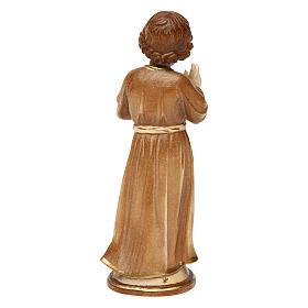 Gesù Adolescente legno brunito 3 colori Valgardena s5