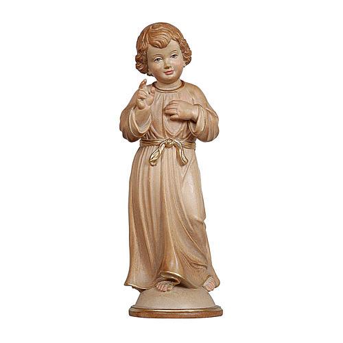 Gesù Adolescente legno brunito 3 colori Valgardena 1